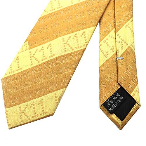 Xzwdiao Corbata Amarilla de Negocios Formal de Seda de Seda de los ...