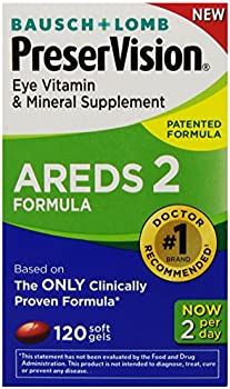 120-Count PreserVision Eye Vitamin & Mineral Supplement