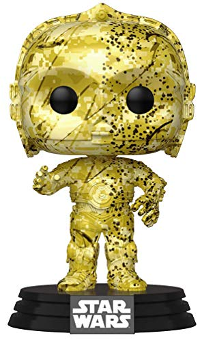 Star Wars Funko Pop Futura Skin C-3PO Bobble-Head (Exclusivo)
