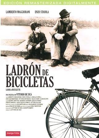 Ladron de bicicletas [DVD]: Amazon.es: Lamberto Maggiorani, Enzo ...