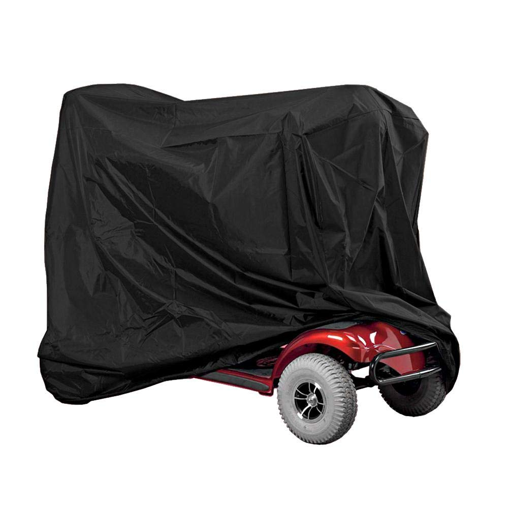 Cover for Electric Pram Heavy Duty Waterproof Dustproof Wind Rain UV Protection Cover for Scooter 170 x 61 x 117 cm Mobility Scooter Storage Cover
