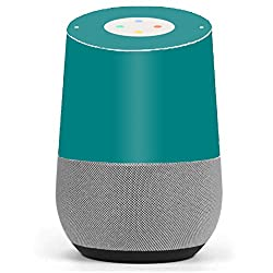 Skin Decal Vinyl Wrap for Google Home stickers skins cover/ Teal color