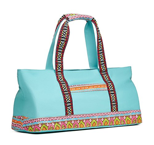 Yoga Tote Bag Boho Tiffany