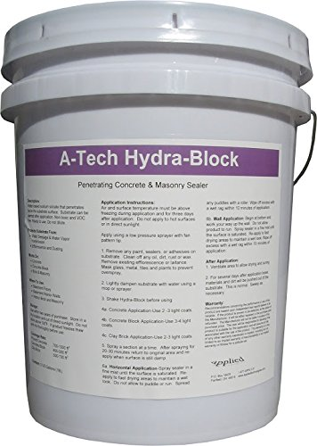 A Tech Hydra Block Concrete Basement Wall And Floor Sealer  5 Gallon Pail