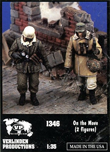 Verlinden Productions 1:35 on the Move Two Resin Figures Kit #1346 (35 Verlinden 2 Figure)