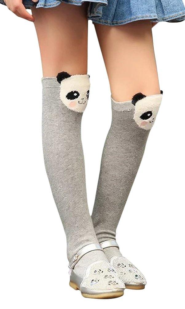 TagoWell Kid Girl Knee High Socks Cartoon Animal Warm Cotton Stockings Leggings