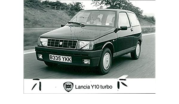 Amazon.com: Vintage photo of Lancia Y10 turbo: Entertainment Collectibles