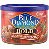 Blue Diamond Almonds, Jalapeno Smokehouse, 6 Ounce (Pack of 24)