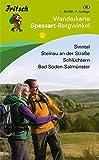 Spessart - Bergwinkel: Sinntal, Steinau an der Straße, Schlüchtern, Bad Soden-Salmünster (Fritsch Wanderkarten 1:35000)