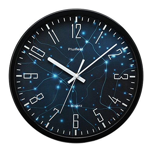 Authentic plumeet 12 silent wall clock with special Cool digital wall clock