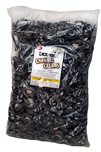 Goetze's Caramel Creams, Licorice, 10 Pound