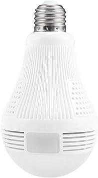 Opinión sobre 960P Cámara LED genérico con 360 Grados Cámara panorámica IP inalámbrica WiFi Cámaras Ocultas para Home Bombilla LED para el Sistema de Seguridad y para el hogar