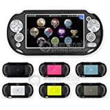 Szjay Metal Aluminum Metallic Protection Hard Case Cover for Playstation Ps Vita 2000 Slim (Black)