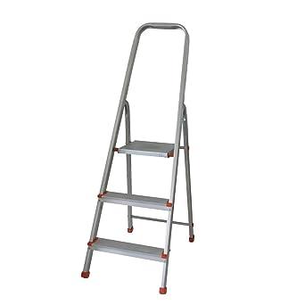 Aluleiter 3in1 Leiter Trittleiter 3-fach faltbar 11-stufig ausfahrbar bis 250 cm