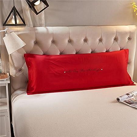 Zhiyuan funda de almohada larga de algodó n 45 x 120 cm