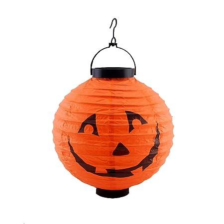 Brand NEW Halloween zucca in resina da giardino ornamentale