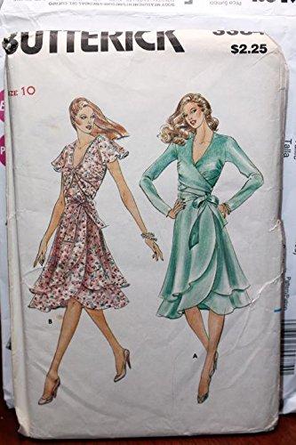 Vintage Butterick Pattern 3384 Sz 10 Misses' Evening Dress UNCUT FF (Pattern Butterick Vintage Uncut Dress)