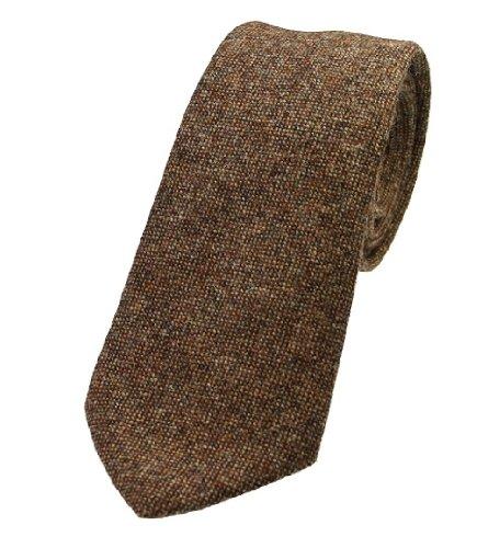 Mottled Wool Light 5 Extras Colours Tweed Brown Ties Elegant xTaRtq