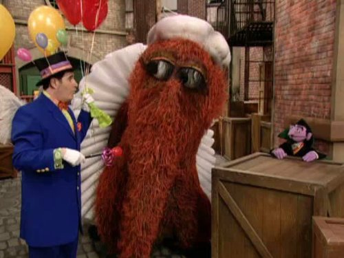 How many balloons to raise Snuffy? Episode -