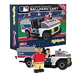 MLB Atlanta Braves Buildable Ballpark Cart, Small, White