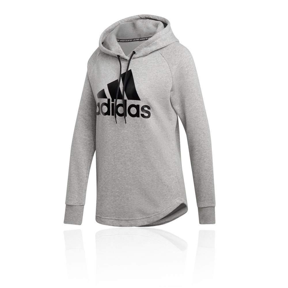 aab070760dd7 adidas Women's Must Haves Badge of Sport Hooded Sweatshirt: Amazon.co.uk:  Sports & Outdoors