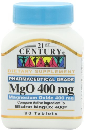 21St Century Mgo 400 Mg Tablets  90 Count By 21St Century