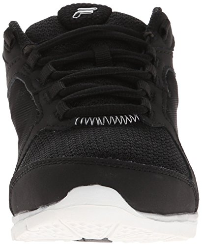 Resilient Black Training Metallic Memory Shoe Women's Black Silver Fila 2 TwYxZBExq