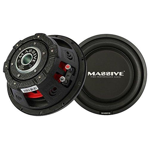 Massive Audio UFO10 - 10 Inch Car Audio 600 Watt UFO Seri...