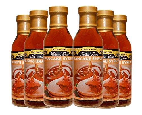 Walden Farms Calorie Free, Carb Free Pancake Syrup 6 Bottles-- 12 Oz Each