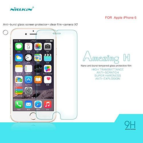 2 opinioni per Nillkin Amazing H- Vetro temperato 9H protezione dello schermo 0,3mm per iPhone