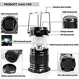 Pushbrite Nishica 5800 Led Solar Emergency Light Bulb (Lantern) - Travel Camping Lantern - Assorted Colours