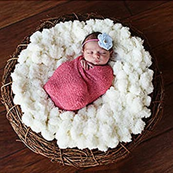 Tiaobug Foto Fotografie Prop Baby Kostüm Häkeln Strick Kuscheldecke