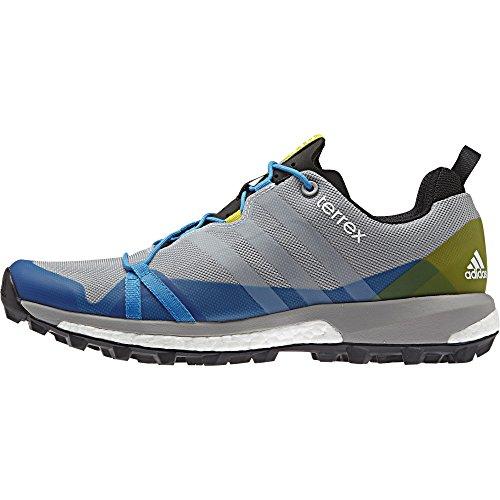 adidas ® Terrex Agravic Zapatillas de trail running gris azul amarillo
