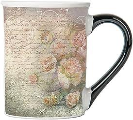 Vintage Roses Mug, Vintage Coffee Cup, Ceramic Vintage Mug, Vintage Gifts By Tumbleweed