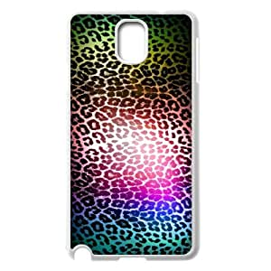 Diy Leopard Print Clear Custom for samsung galaxy note 3 White Shell Phone Cover Case LIULAOSHI(TM) [Pattern-1] by runtopwell