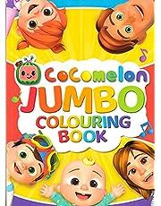 CoComelon Jumbo Colouring Book
