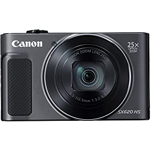 51cTbloP7uL. SS300  - Canon PowerShot SX620 Digital Camera w/25x Optical Zoom - Wi-Fi & NFC Enabled (Black)