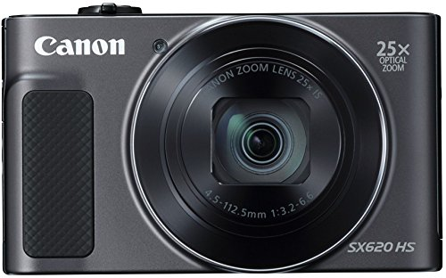 (Canon PowerShot SX620 Digital Camera w/25x Optical Zoom - Wi-Fi & NFC Enabled (Black))