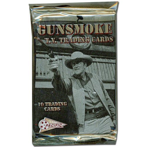Pacific Memorabilia - 1993 Pacific Gunsmoke TV Show Trading Cards Unopened Pack (10 cards/pack)