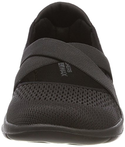 Skechers Women's 15407 Mary Janes Black (Black) pDl9b