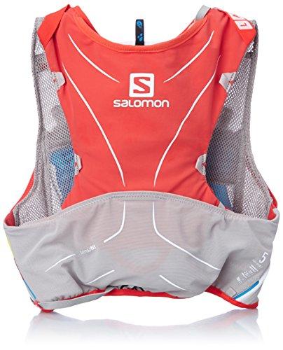 Salomon S-Lab Advanced Skin Rucksack 5Set XS/S Red/Aluminium/White