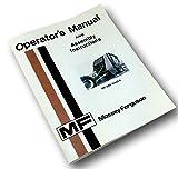 Massey Ferguson Mf 560 Baler Operators Owners Manual & Assembly Instructions