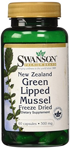 Swanson Green Lipped Mussel Caps