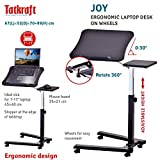 Tatkraft Joy Portable Laptop Desk with Mouse