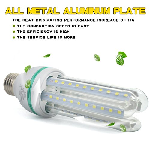Letour Led Bulbs Corn Light 12w 1150 Lumen 60leds Daylight 6500