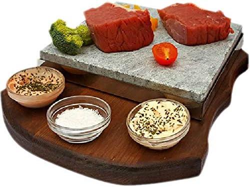 Piedra para Asar Carne a la Piedra de 20x20 Modelo Curvas 3 ...