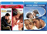 Blu Ray Romance Movies The Notebook / Lucky One & The Vow & Dear John Channing Tatum & Rachel McAdams 4 Love Bundle Set