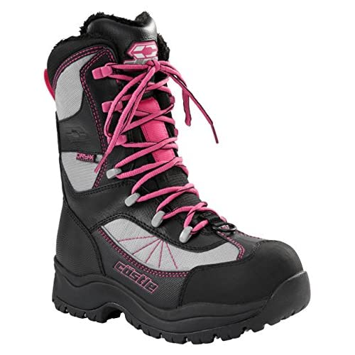 Castle X Force 2 Women's Snowmobile Boot Gray SZ 10