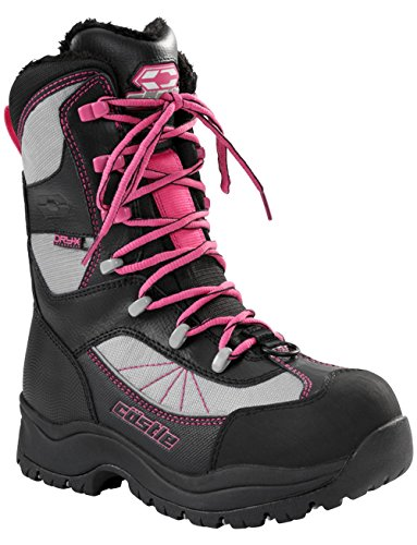 Castle X Force 2 Women's Snowmobile Boot Gray SZ 6