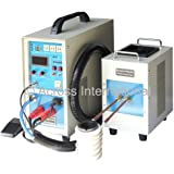 IH15AB Mid-Frequency Dual-Station Solid State Induction Heater w/ Timers 30-80KHz 15KW